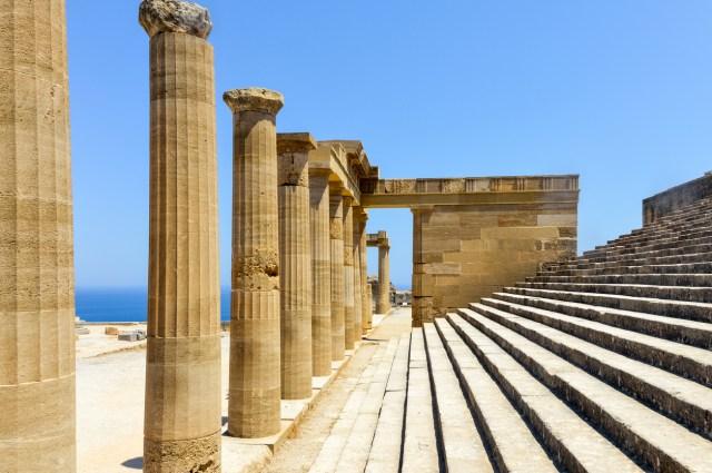 Rhodes - Acropolis of Lindos