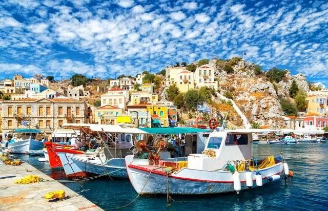 Rhodes - Simi Island