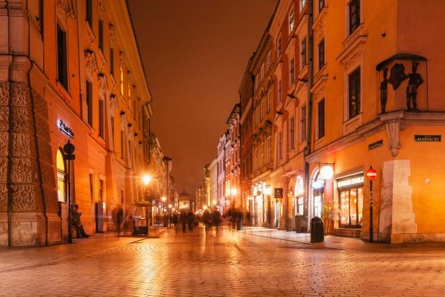 Florianska shopping street - Krakow