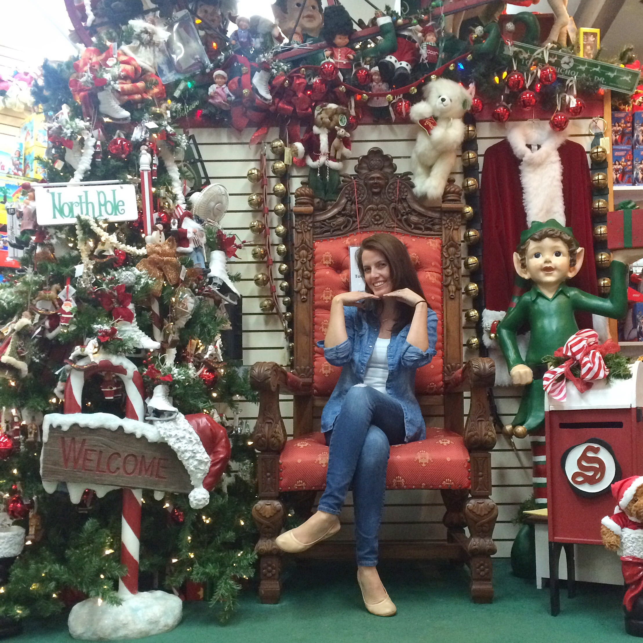 Reindeer games in north pole alaska travels a dance away north pole alaska 99705 click here to get more info on how you can even request to receive letters from santa unfortunately i came on the only day santa spiritdancerdesigns Image collections