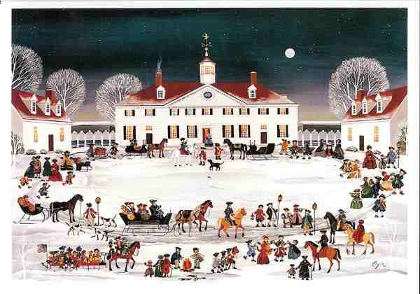 Christmas At Mount Vernon A Historical Holiday For The