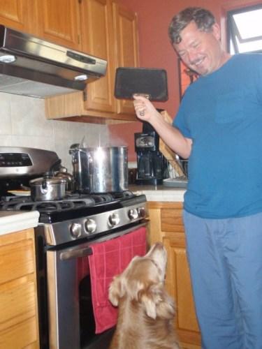 Lovah aka Master Chef Bean Maker and all-around Wonderful Hubby