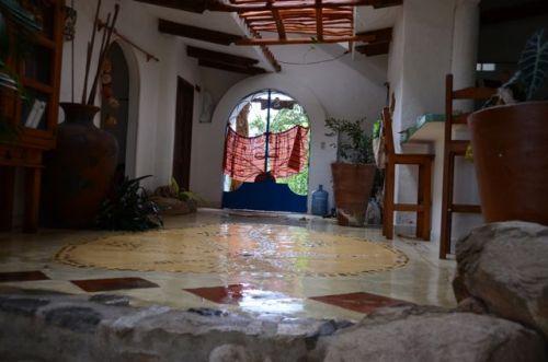 Raining inside our casa