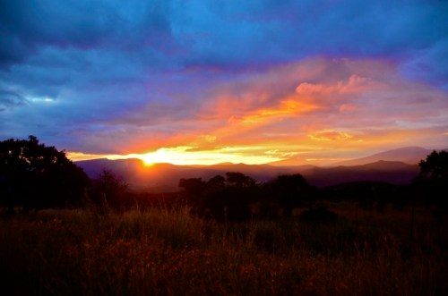 Sunset at Blyde River Canyon