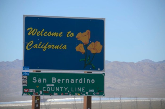 Welcome to California State Sign