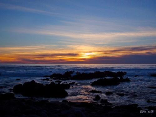 Pacific Grove Beach Sunset