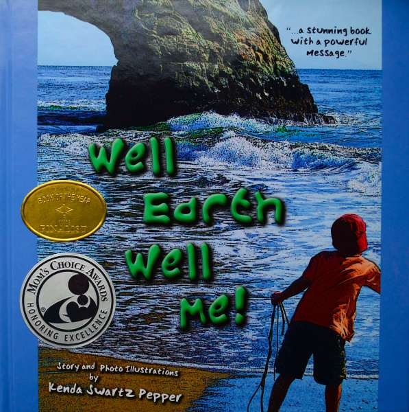 Well Earth Well Me children's book about caring for the earth.