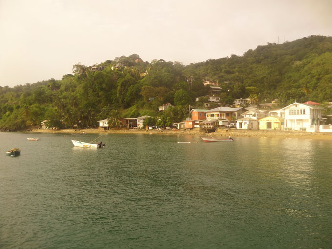 charlotteville backpacking in trinidad and tobago