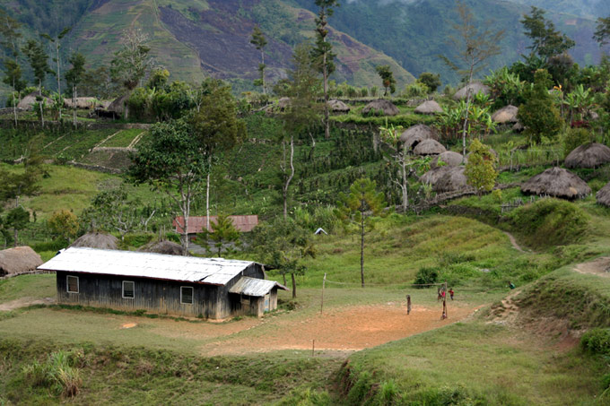 hitugi papua Trekking por el Valle de Baliem