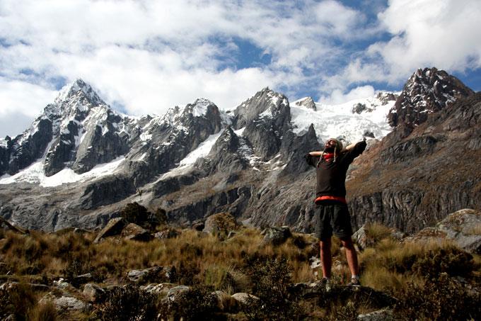 Santa Cruz Hike backpacking in Peru. Santa Cruz trek on a budget
