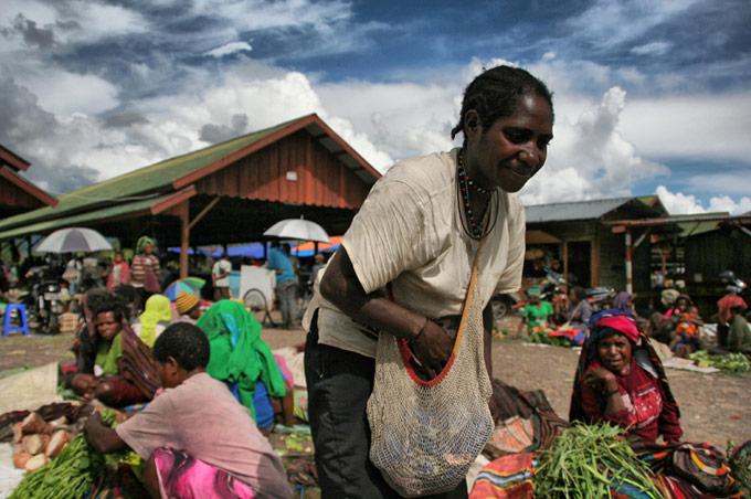 mercado wamena papua