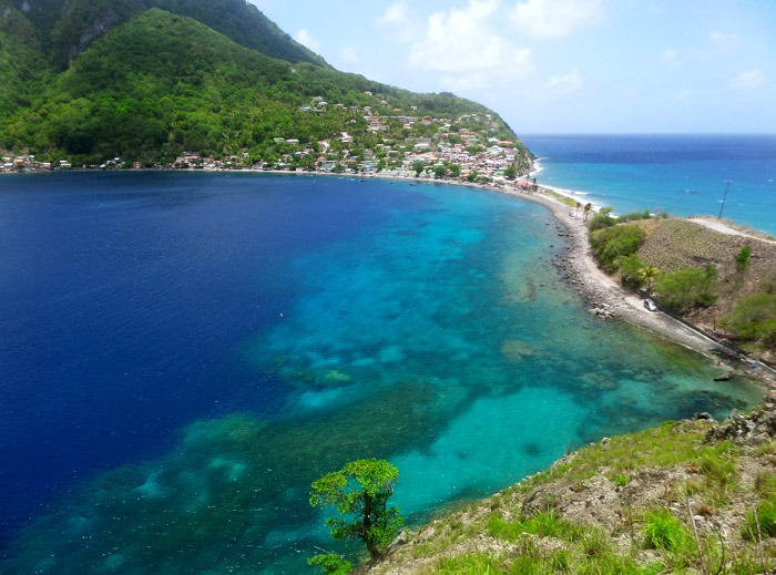 scotts head backpacking in dominica travel guide
