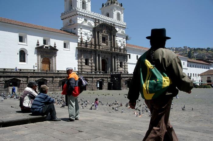 san francisco backpacking ecuador budget