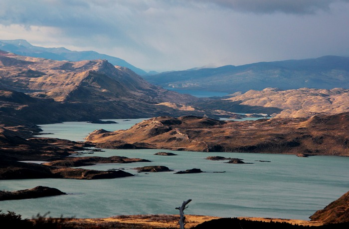 pehoe lake Torres del Paine W Trek