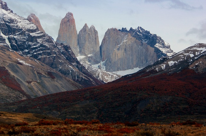 landscapes Torres del Paine W Trek