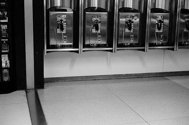 Airport Pay phone