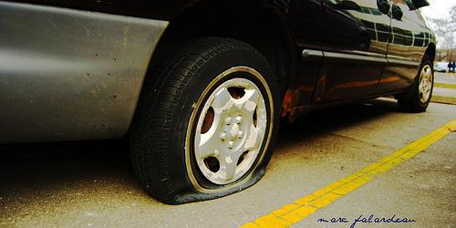 Flat Tire in Costa Rica