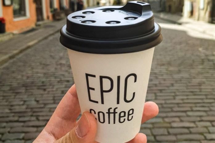 Coffee in Tallinn Estonia