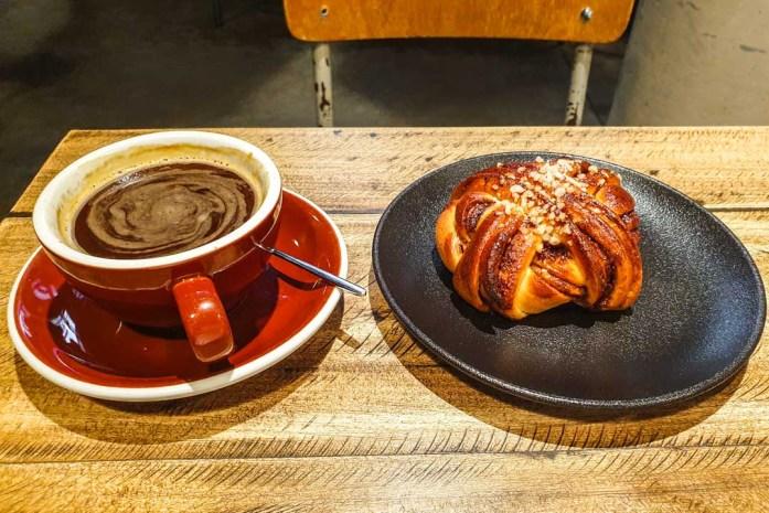 Rost bakery, coffee in Talinn
