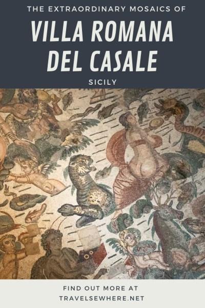 The extraordinary mosaics and Roman ruins of the Villa Romana del Casale in Sicily, via @travelsewhere