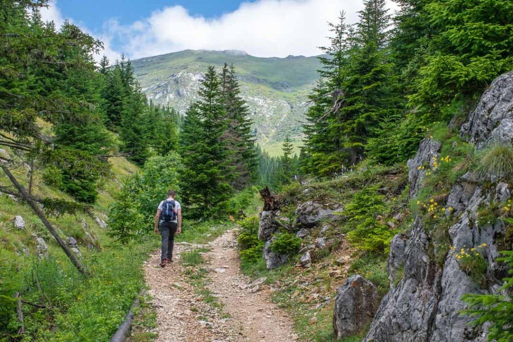 Trail Rugova Mountains