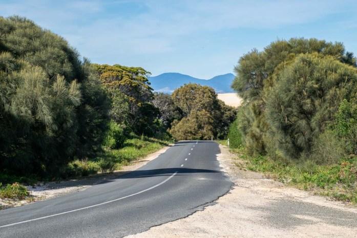 Driving in Tasmania