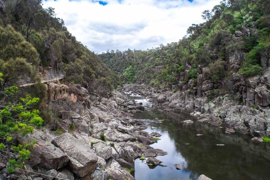 Cataract Gorge Reserve, Tasmania walking trails