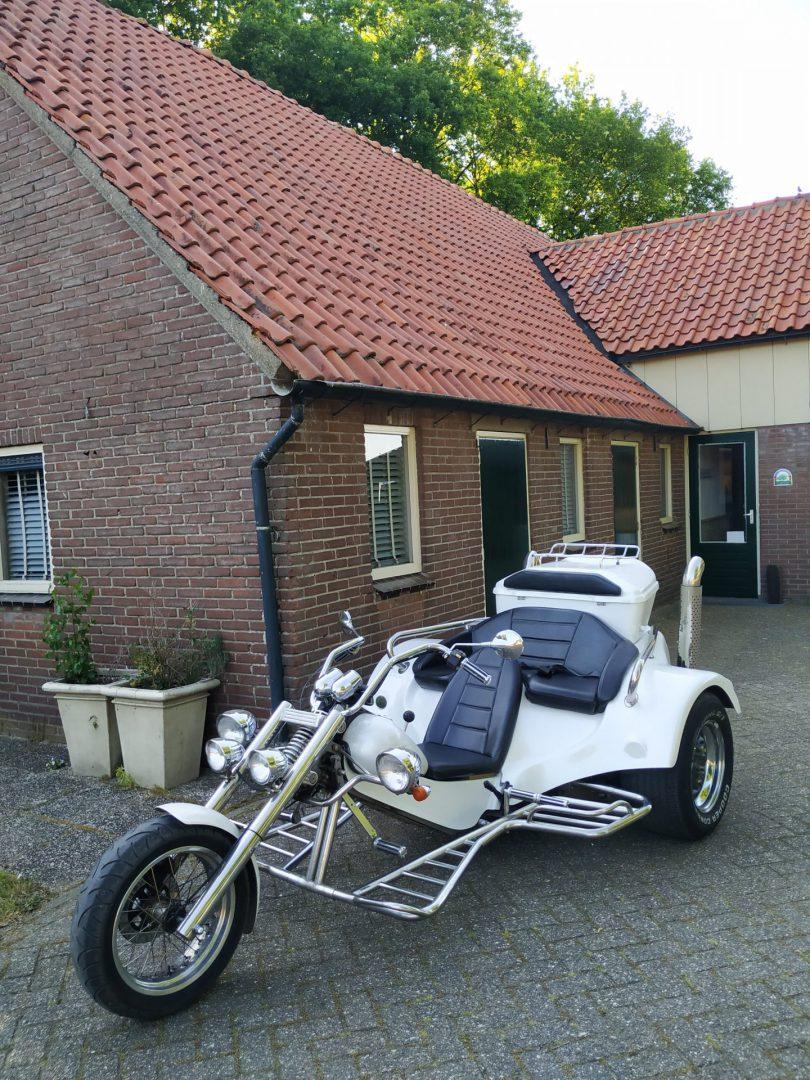 Trike rijden Veluwe