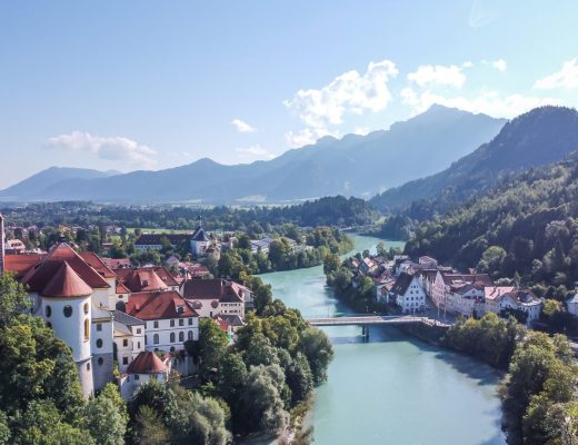 Füssen Zuid-Duitsland