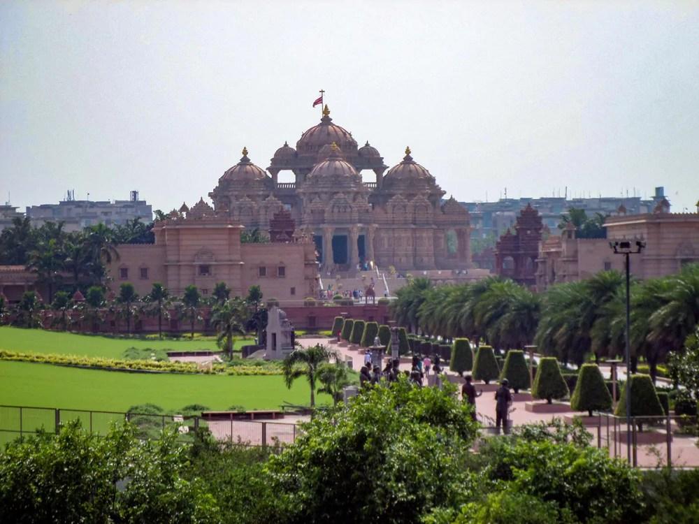 Akshardham Tempel Delhi