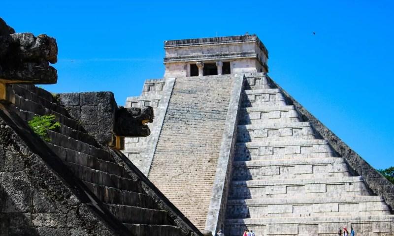 Chichen Itza Pyramide Kukulkan