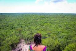 Pyramide mit fantastischer Aussicht in Cobá