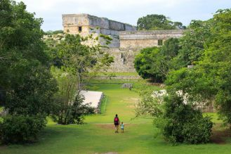 Gouverneurspalast in Uxmal