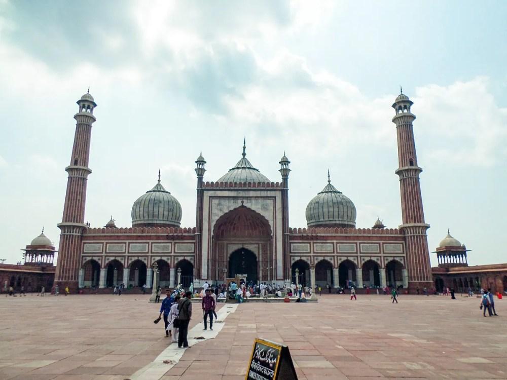 Moschee Jama Masjid Delhi