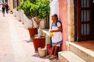 Trachten Damen Yucatan Mexiko