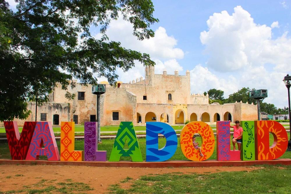 Valladolid Buchstaben