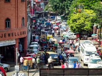 Verkehr Delhi Indien