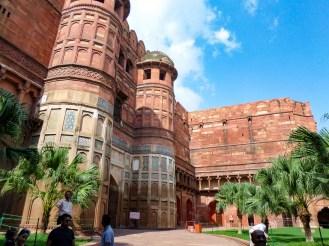 Amar Singh Gate Agra Indien
