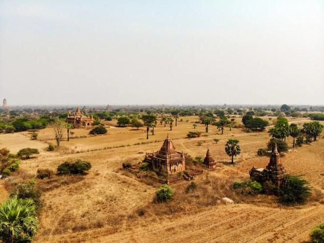 Drohne Fliegen Bagan Pagode