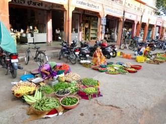 Gemüseverkauf jaipur