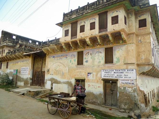 Golden Painted Haveli Mandawa