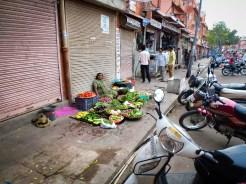 Jaipur Gemüseverkäuferin