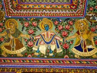 Mandawa Golden Painted Haveli