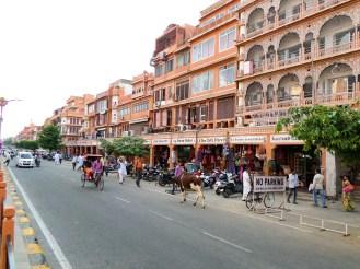 Pink City Jaipur Rosa Stadt