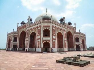 Seitenansicht Humayun-Mausoleum