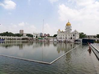 Sikh Tempel Gurudwara Bangla Sahib Delhi