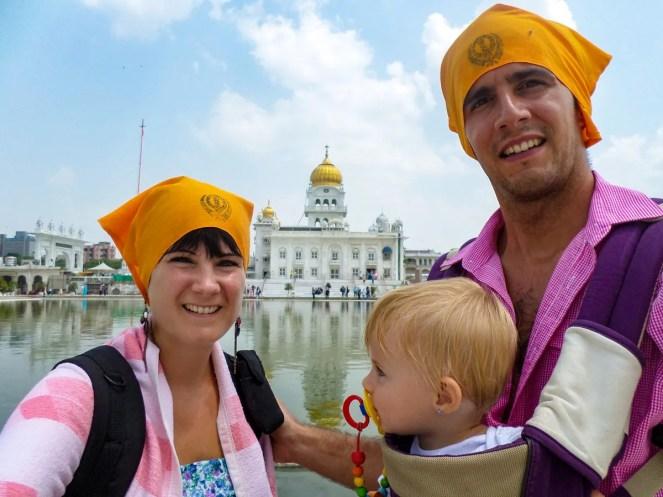 Sikh Tempel Neu-Delhi