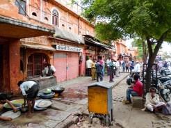 Straße Jaipur