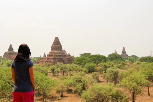 Aussicht Shwegugyi Tempel