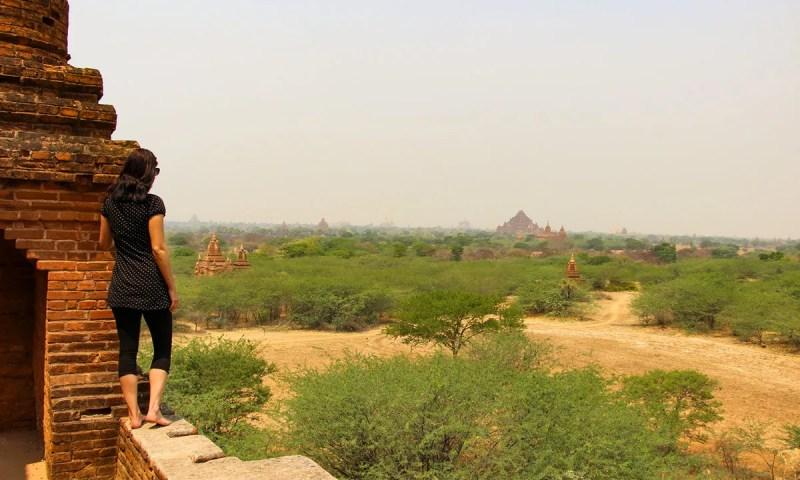 Bagan entdecken besteigbare Pagoden